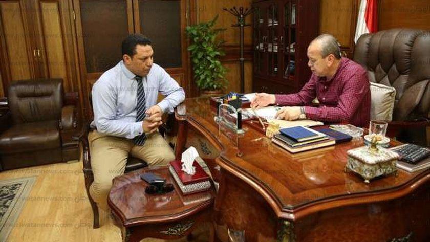 محافظ كفرالشيخ يستعرض مشروعات مديرية الشئون الصحي