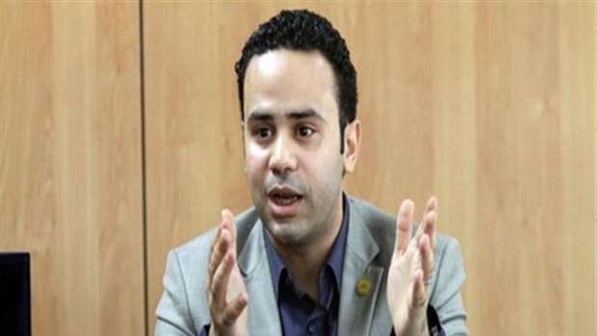 صورة محمود بدر: مرشد جماعة الإخوان الإرهابية الجديد هو البودرجي محمد علي – مصر