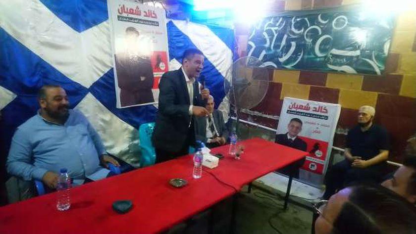 خالد عبد العزيز شعبان مرشح دائرة حدائق القبة
