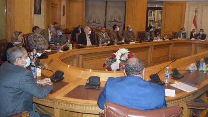 لقاء تجار القاهرة مع رئيس مصلحة الجمارك