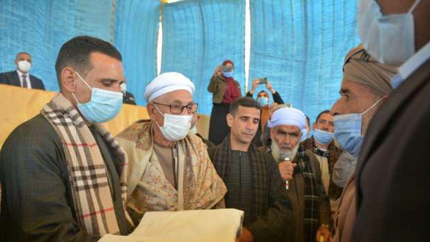 """الصلح عائلتي """"عبد الله ومصطفى"""" بطهطا في سوهاج"""