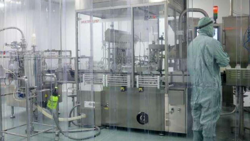 مصنع تصنيع لقاحات