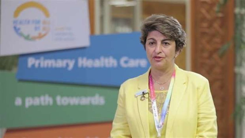 الدكتورة رنا الحجة مديرة إدارة البرامج بمنظمة الصحة العالمية لشرق المتوسط،