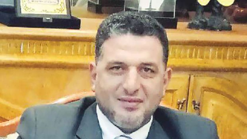 وائل سرحان رئيس النقابة العامة للعاملين بهيئة الإسعاف