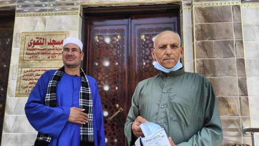 افتتاح مساجد بالإسماعيلية