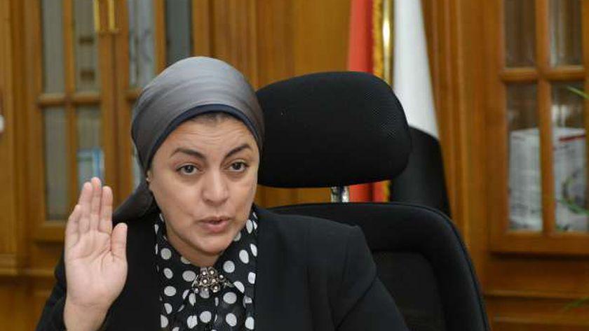 الدكتورة هبة والي.. رئيس الشركة القابضة للأمصال واللقاحات