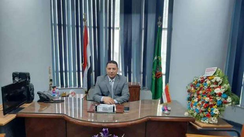 الدكتور فيصل جوده وكيل وزارة الصحة بمحافظة المنوفية