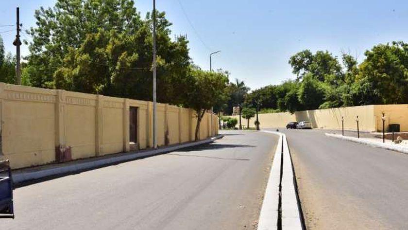 تطوير شوارع الأقصر