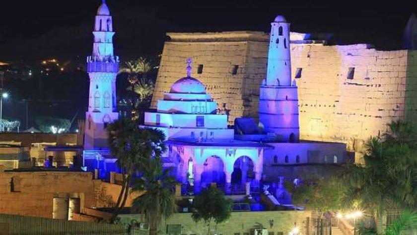 مسجد سيدي أبو الحجاج الأقصري- أرشيفية