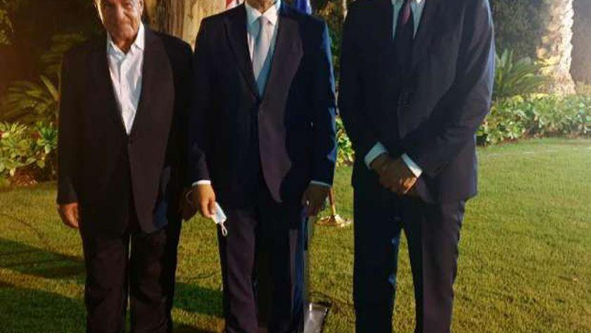 وزير السياحة يشارك في حفل توديع السفير الألمانيبعد انتهاء فترة عمله في مصر