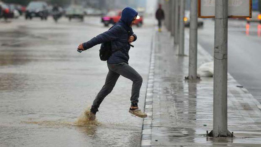 طقس غير مستقر في الدقهلية وسقوط أمطار على مناطق متفرقة