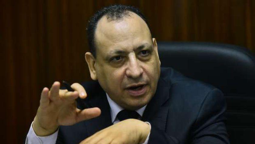 المستشار محسن دردير رئيس محكمة شمال القاهرة الابتدائية