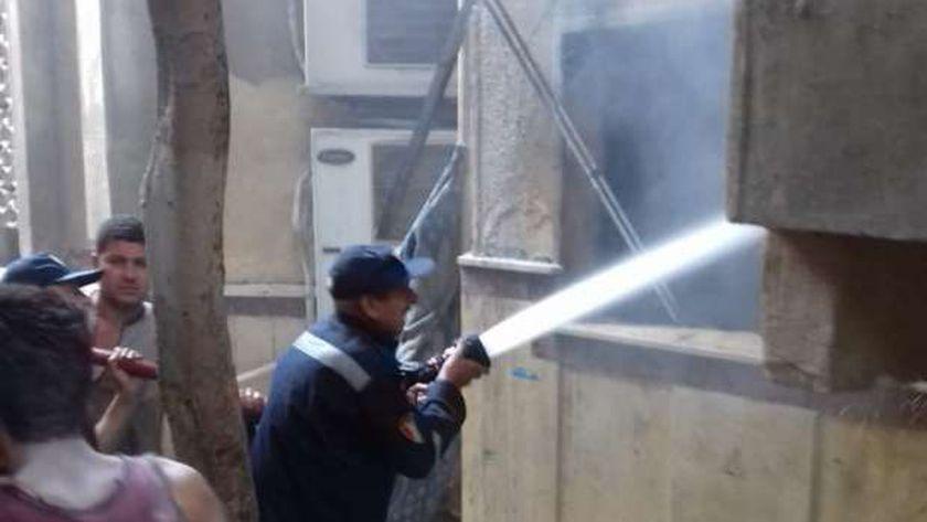 الحماية المدنية بمحافظة القاهرة