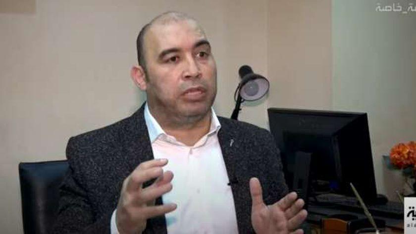 الكاتب الصحفي أحمد الخطيب، رئيس التحرير التنفيذي لجريدة «الوطن»