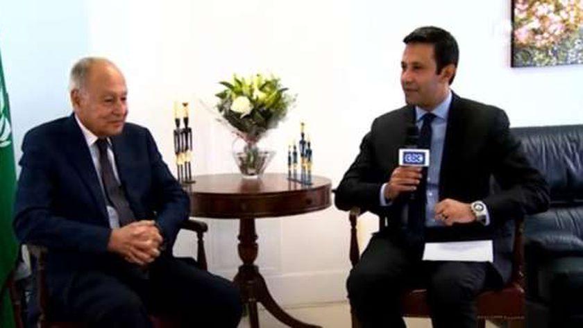 السفير أحمد أبو الغيط، الأمين العام لجامعة الدول العربية