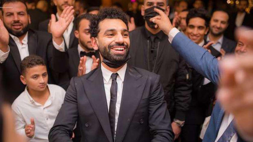 محمد صلاح لاعب ليفربول الإنجليزي والمنتخب المصرى