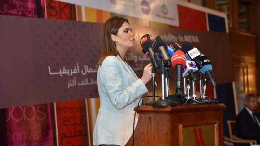د. سحر نصر وزيرة الاستثمار و التعاون الدولي