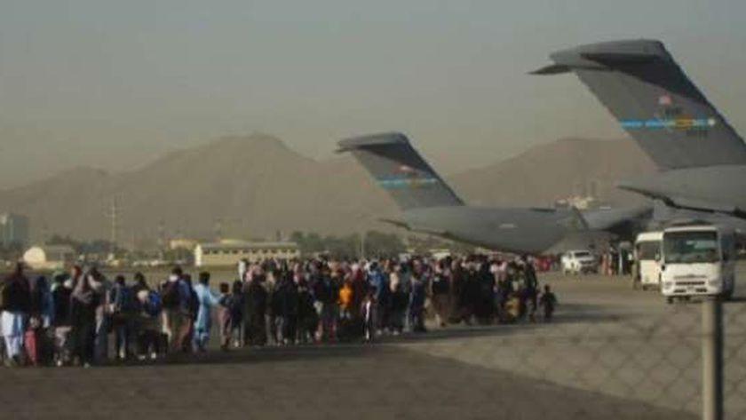 عمليات الإجلاء بمطار كابول الدولي