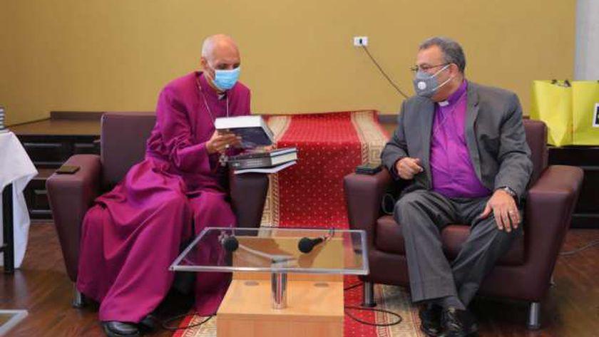 رئيس الطائفة الإنجيلية يلتقي مع رئيس الكنيسة الأسقفية