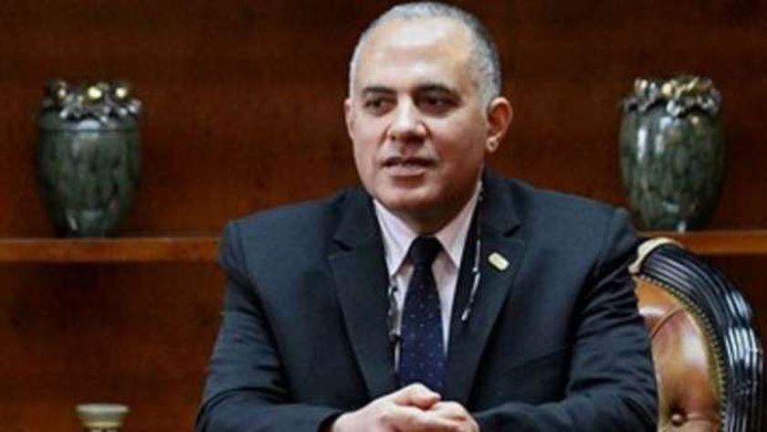 د.محمد عبد العاطي وزير الموارد المائية والري