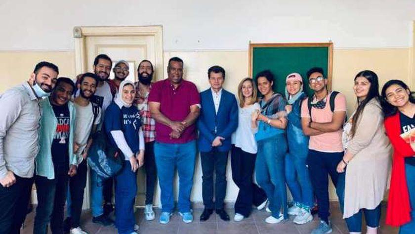 قسم المسرح بكلية الآداب جامعة الإسكندرية