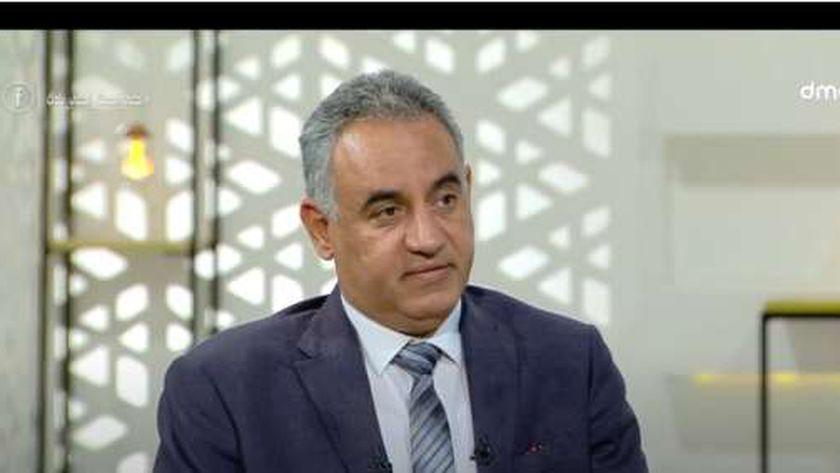 الدكتور خالد عبدالفتاح مستشار وزارة التضامن لمشروع حياة كريمة