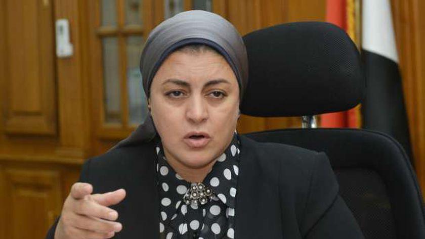 الدكتورة هبة والي، رئيس مجلس إدارة فاكسيرا التابعة لوزارة الصحة والسكان