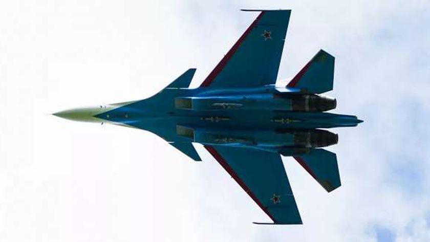 المقاتلة الروسية سو - 30