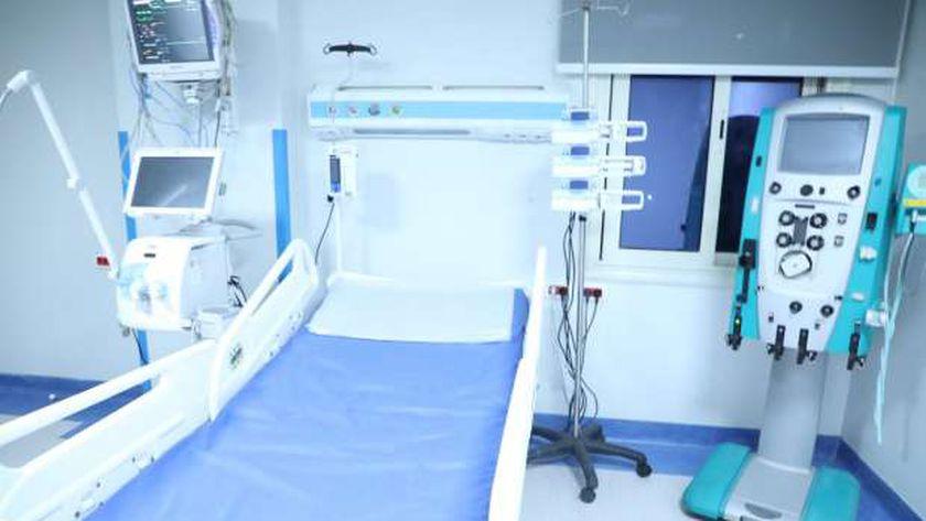 غرفة مستشفى مجهزة