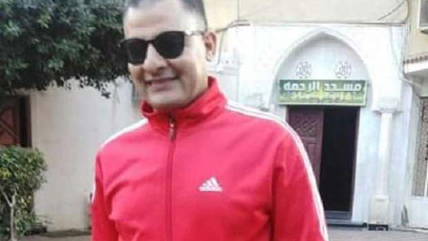 اللاعب الراحل عماد بيومي