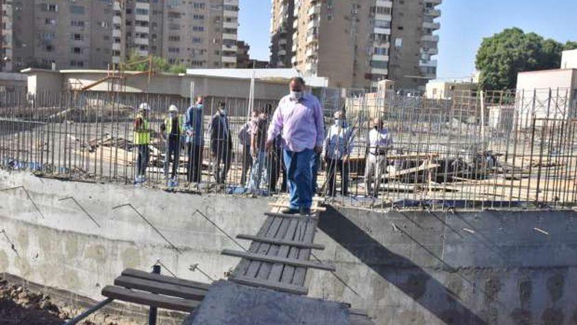 محافظ أسيوط يتفقد أعمال الإحلال والتجديد بالمحطة