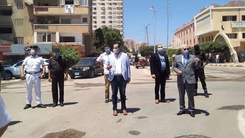 مدير أمن كفر الشيخ يتفقد التمركزات الأمنية