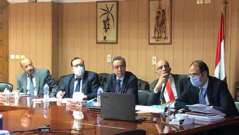 وفد مصر في مفاوضات سد النهضة