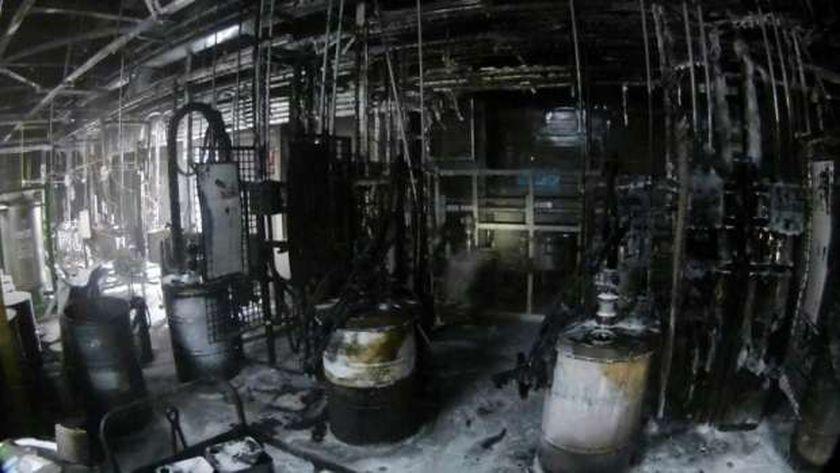 حريق بمصنع  تويوتاتركيا