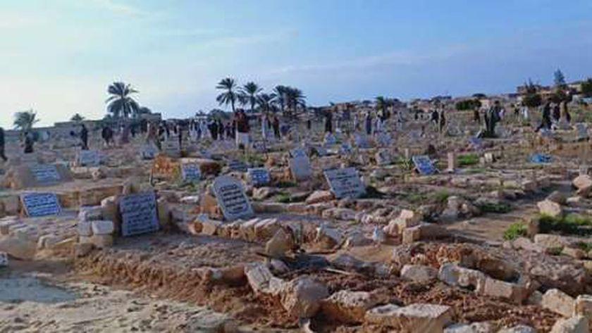 المقابر