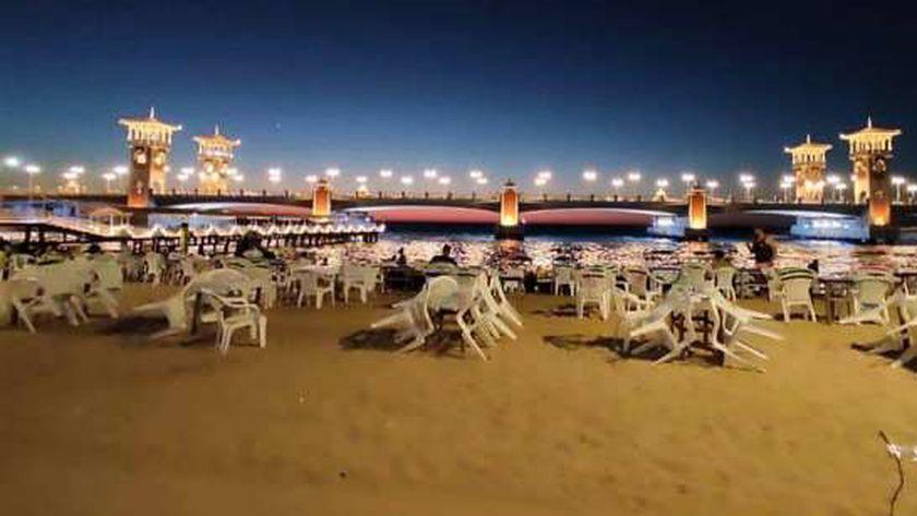 شاطئ ستانلي أبرز شواطئ الإسكندرية