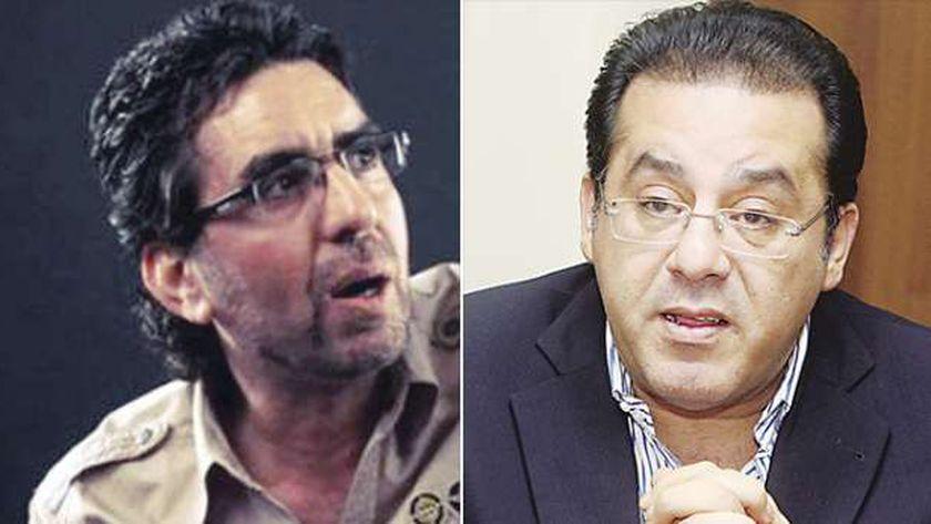 أيمن نور ومحمد ناصر