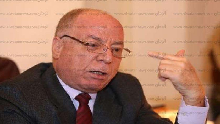 حلمي النمنم وزير الثقافة الأسبق