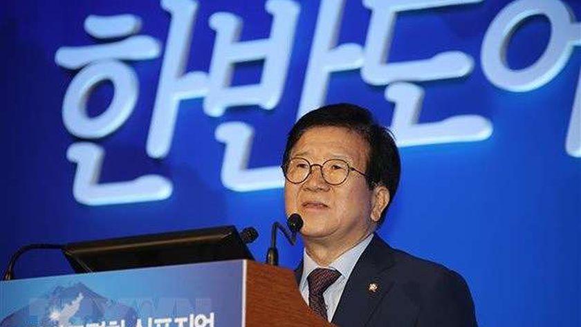 رئيس البرلمان الكوري الجنوبي «بارك بيونج سوك»