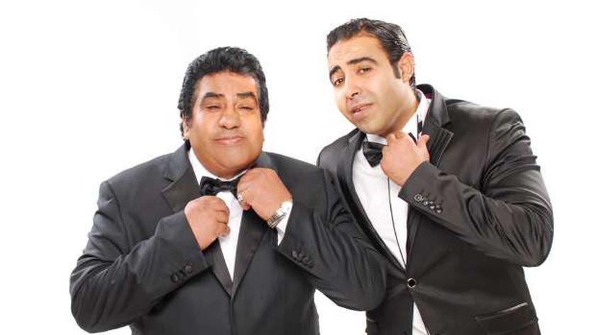 أحمد عدوية مع ابنه المطرب محمد عدوية