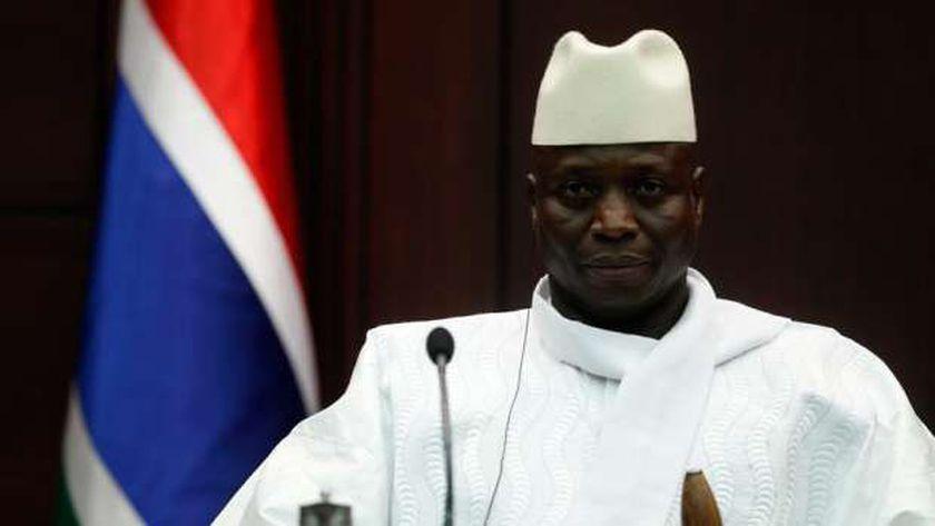 رئيس جامبيا السابق يحيى جامع