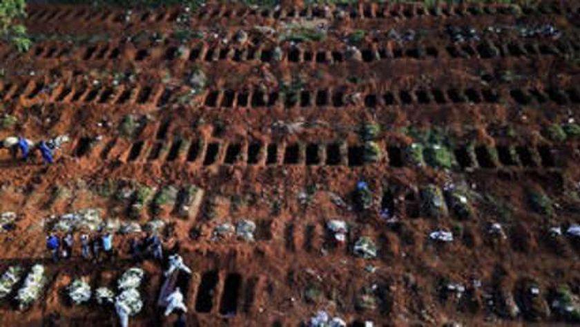 وفيات كورونا فى البرازيل