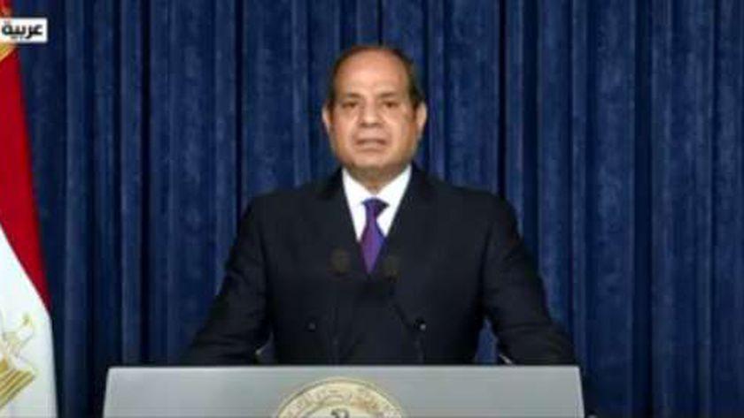 صورة السيسي: مصر اتخذت العديد من الإجراءات لتمكين المرأة في العديد من المناصب – مصر