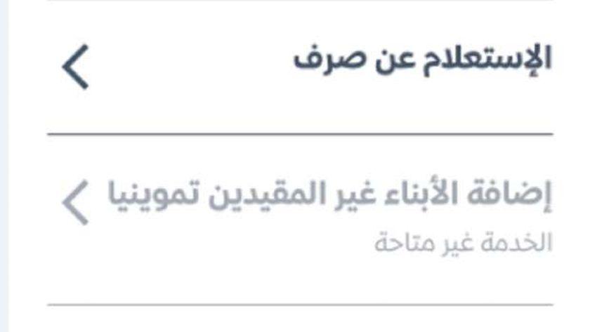 توقف بعض خدمات بوابة مصر الرقمية للتموين