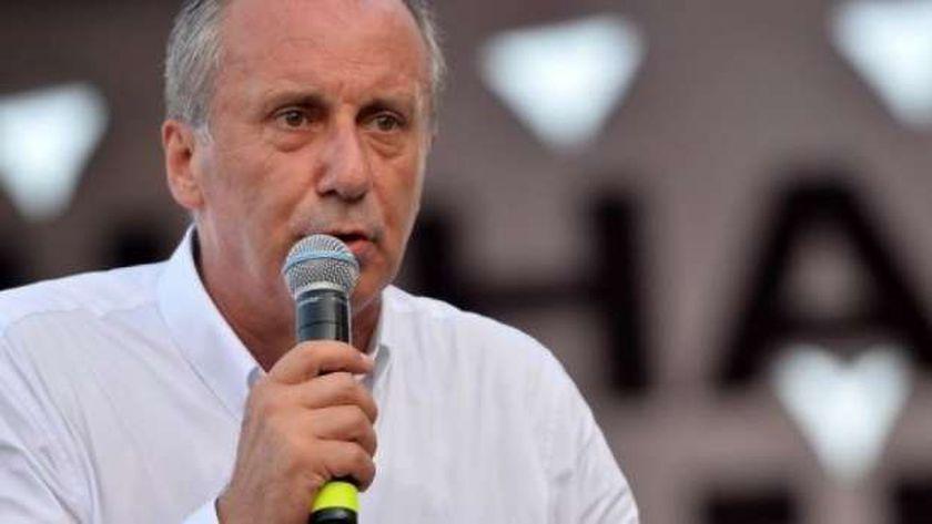 المرشح الرئاسي السابق عن حزب الشعب الجمهوري محرم إينجه