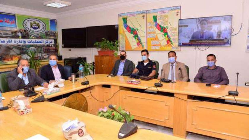 غرفة عمليات محافظة أسيوط لمتابعة إنتخابات النواب