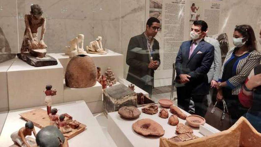جولة في المتحف القومي للحضارة المصرية بالفسطاط