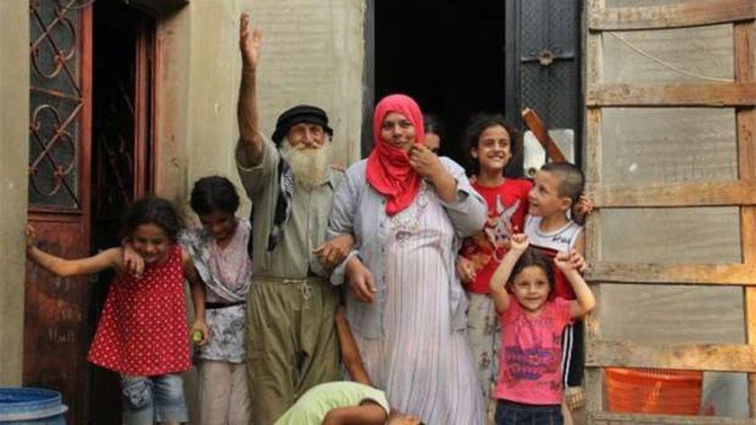 المعمر اللبناني وزوجته