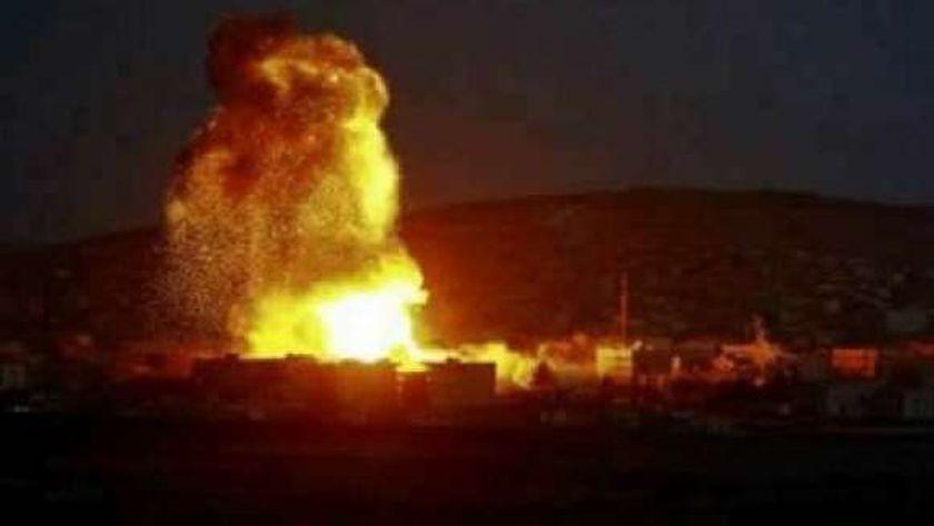غارات على مناطق سورية