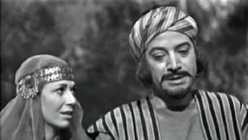مشهد للفنان يوسف شعبان من فيلم «سهم الله»